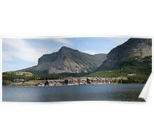 Many Glacier Lodge ~ Glacier Nat'l Park ~ Montana Poster