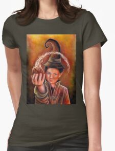 Wizard Apprentice Womens Fitted T-Shirt