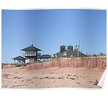 misquamicut state beach, ri Poster