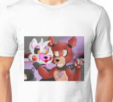 FNaF: Foxy and Mangle Unisex T-Shirt
