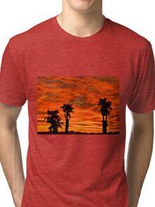 Welcome Home Sunset Tri-blend T-Shirt