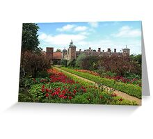 Stunning borders leading to Blicking hall Greeting Card