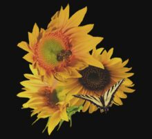 Sunflower Lovers by Diane Schuster