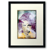 Jimmy in the Mist Framed Print