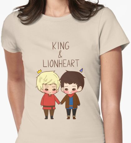 King and Lionheart Womens Fitted T-Shirt