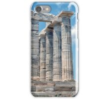 CAPE SOUNION TEMPLE iPhone Case/Skin