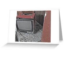 tele. Greeting Card
