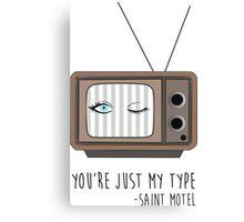 Saint Motel - My Type Canvas Print