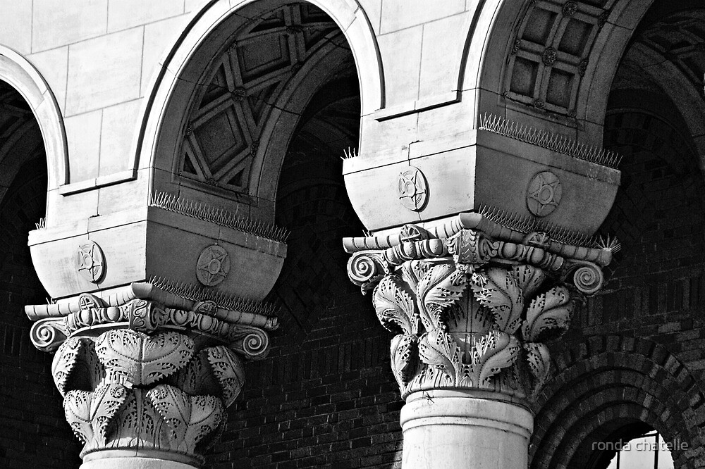 The Art of Arches/Pillars by ronda chatelle