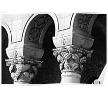 The Art of Arches/Pillars Poster