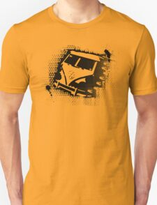Splitty Stencil Unisex T-Shirt