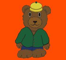 Bear in Yellow Hat Kids Tee