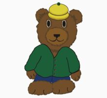 Bear in Yellow Hat Baby Tee