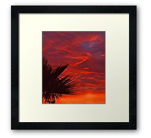 Sunrise Lake Havasu City Framed Print