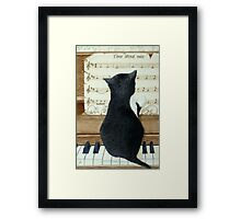 Name that tune! Framed Print
