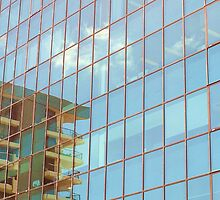 Southport building reflection #2 by Virginia McGowan