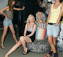 Behind the scenes - Ohara Fashion Launch @ the Ivy, Dec 2009 by Chen Lim