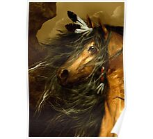 Shikoba - Choctaw Horse  Poster