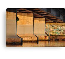 Fennel Bay Bridge - Lake Macquarie NSW Canvas Print
