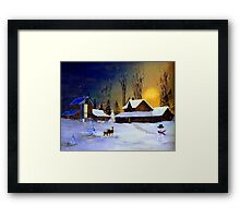The Night Before Christmas Framed Print