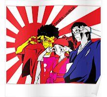 The Gang ~ Samurai Champloo Poster