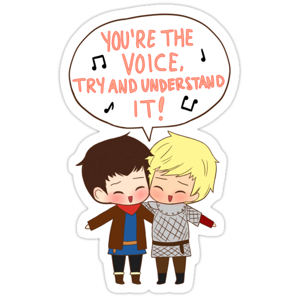 You're the Voice Try and Understand It! by lilybells36