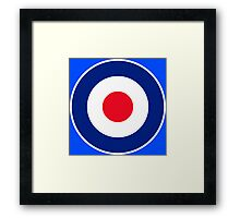 Classic Roundel Graphic Framed Print