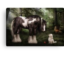 Want to Play? Canvas Print