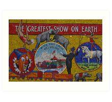 Runing Away To Join, Er, Photograph The Circus Art Print