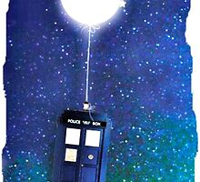 Doctor Who ~  Flying Tardis by BeccaStile11