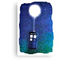 Doctor Who ~  Flying Tardis Canvas Print