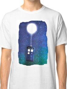 Doctor Who ~  Flying Tardis Classic T-Shirt