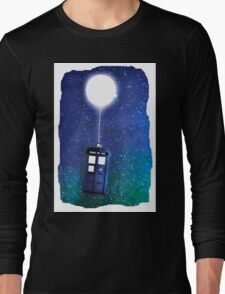Doctor Who ~  Flying Tardis Long Sleeve T-Shirt