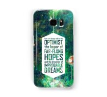 Dreamer of Improbable Dreams Samsung Galaxy Case/Skin