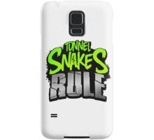 "FALLOUT 3 - ""Tunnel Snakes Rule"" Cool Typography Videogame T-Shirt Design Samsung Galaxy Case/Skin"