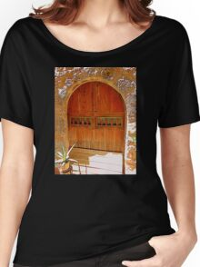 A Sunny Doorway........................Majorca Women's Relaxed Fit T-Shirt