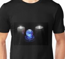 Crystal Ball in Blue Unisex T-Shirt