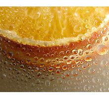 orange drops Photographic Print