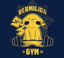 Vermilion Gym by coinbox tees