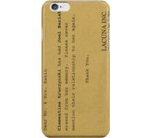 Lacuna Inc Eternal Sunshine Phone Case iPhone Case/Skin