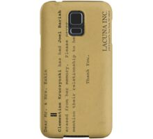 Lacuna Inc Eternal Sunshine Phone Case Samsung Galaxy Case/Skin