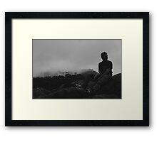 Rocky Rest Framed Print