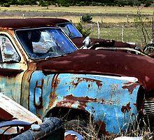 Rusty Blue    ( BoneYard Series ) by Carla Jensen