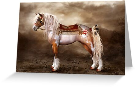 Cheveyo Native American Horse by Shanina Conway