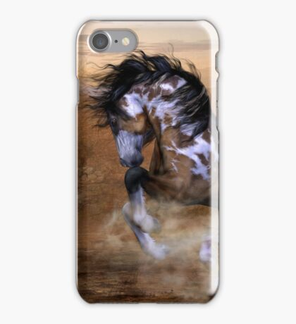 The Wild,The Free Painted Horse iPhone Case/Skin