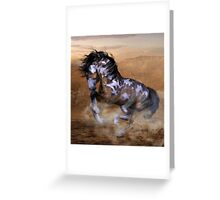 The Wild,The Free Painted Horse Greeting Card