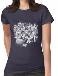 Rpg night  Womens Fitted T-Shirt