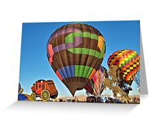 Balloons Up Greeting Card