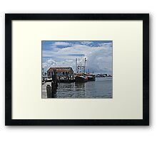 Wanchese Fishing Framed Print