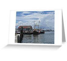 Wanchese Fishing Greeting Card